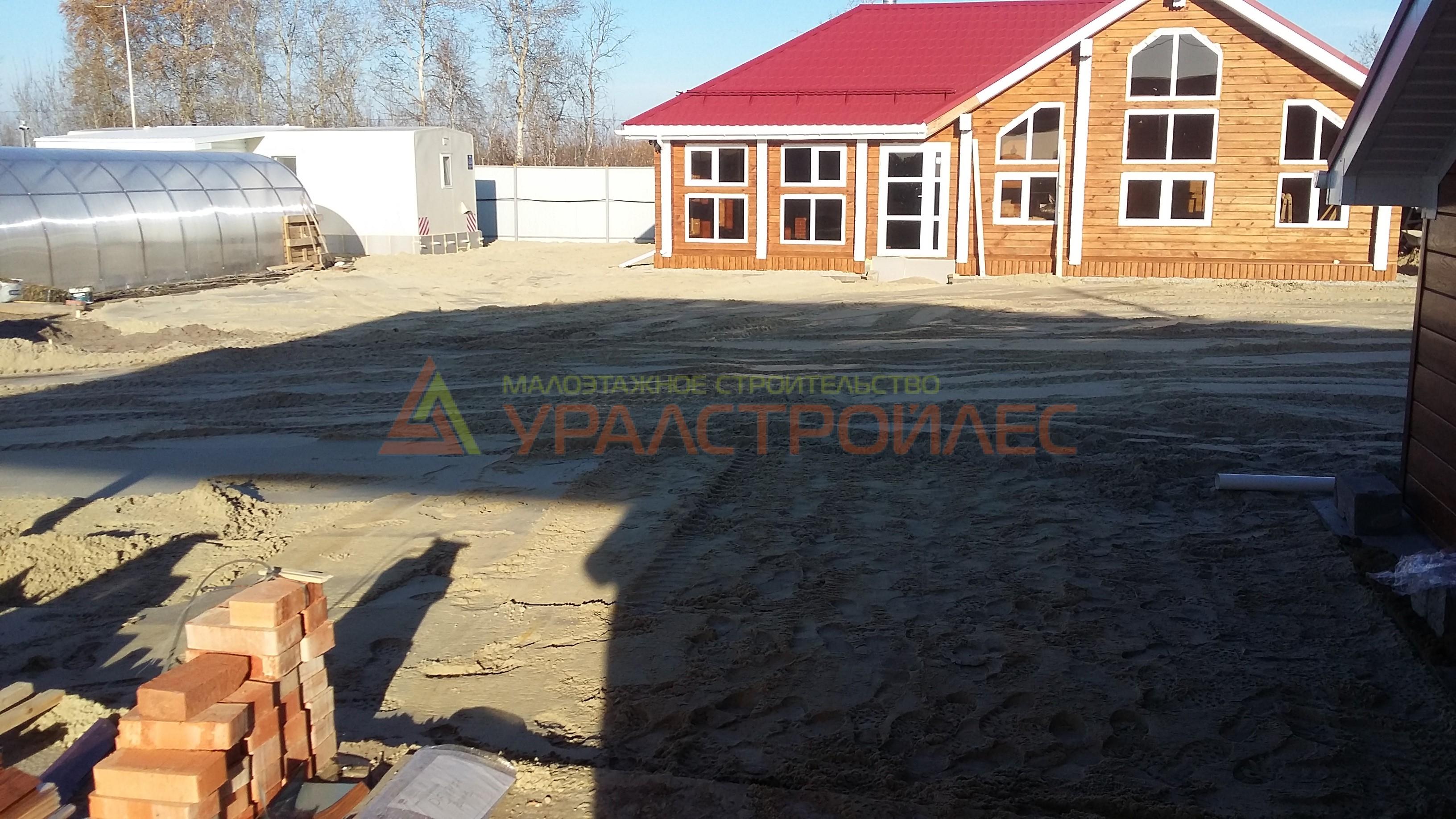 Проект № 643.4 г. Тюмень Тобольский тракт . пос. Борки