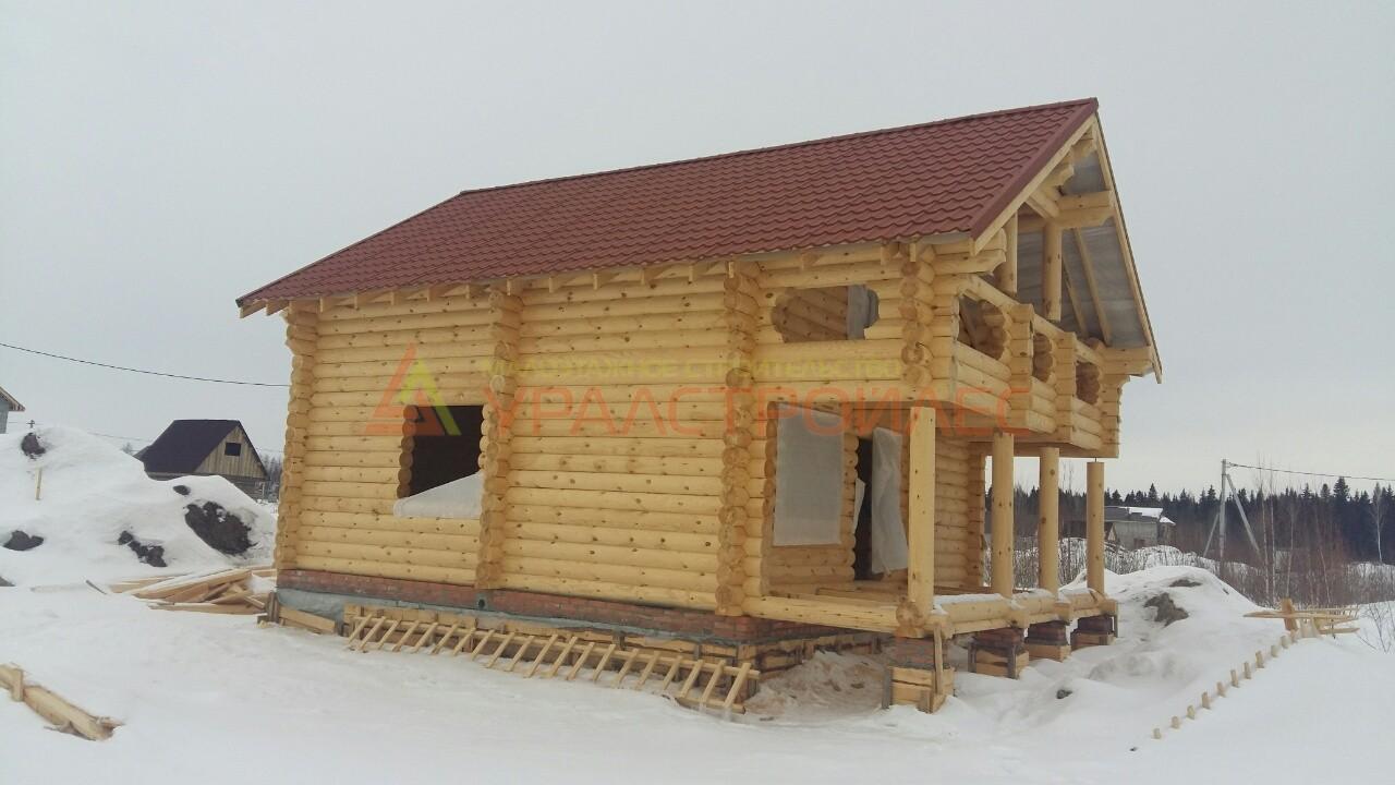 Проект №491, баня двухэтажная г . Тобольск