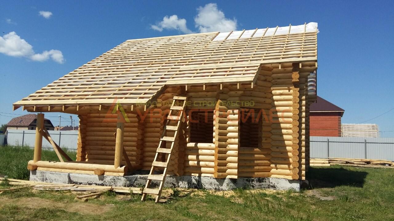Строительство дома г. Тюмень поселок Казарова 2015г. проект № 529