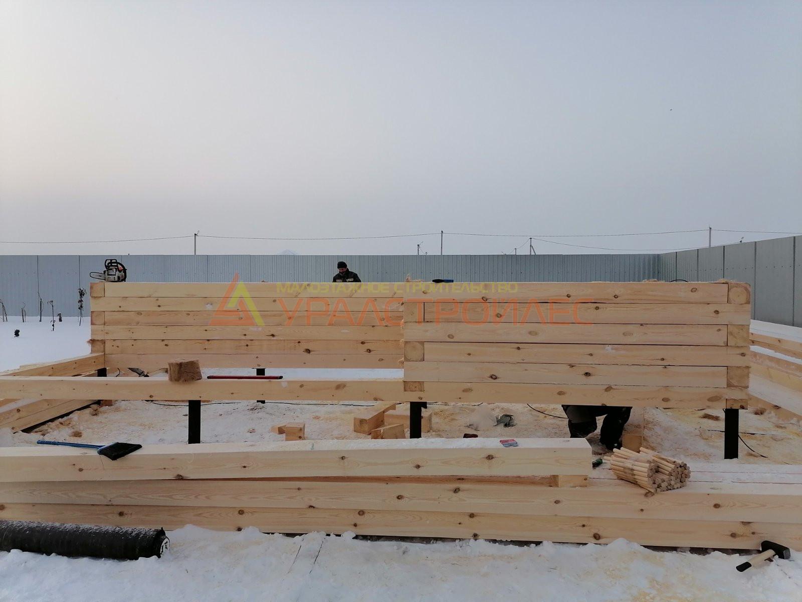 Проект бани №1124 г. Тюмень. Д. Криводанова .Старотобольский тракт