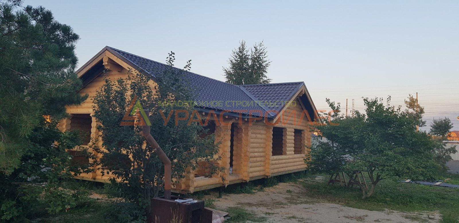 Проект бани № 1179 г. Тюмень . Д. Патрушева