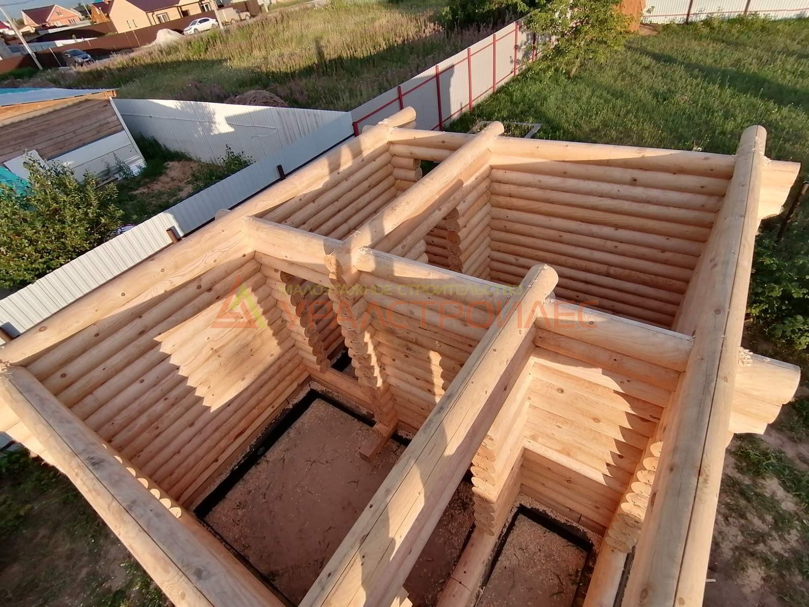 Проект бани № 631.4 г. Тюмень . Д. Якуши Старотобольсктй тракт