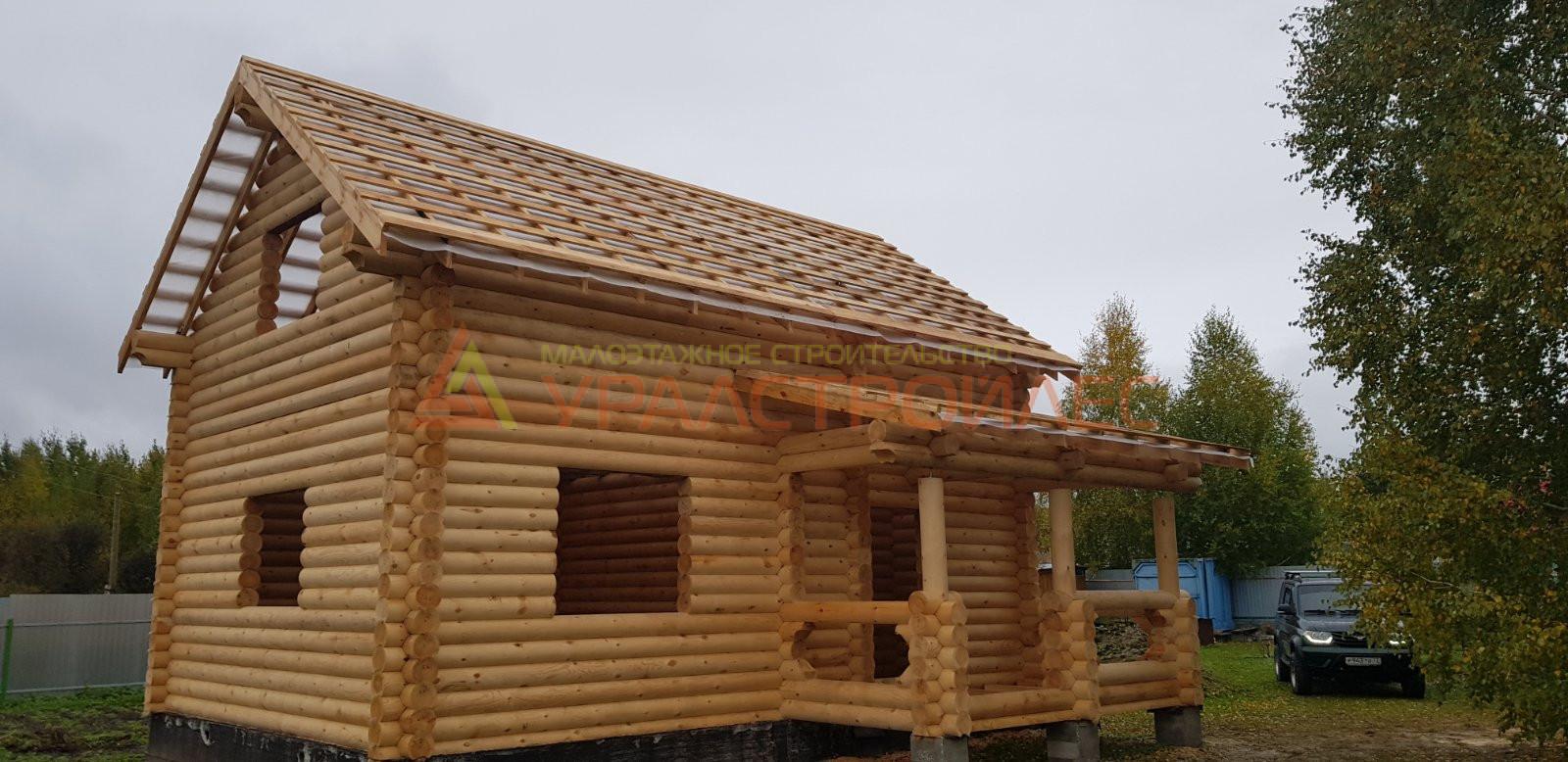 Проект № 1034 Дом г. Тюмень СНТ Здоровье  .Велижанский тракт.