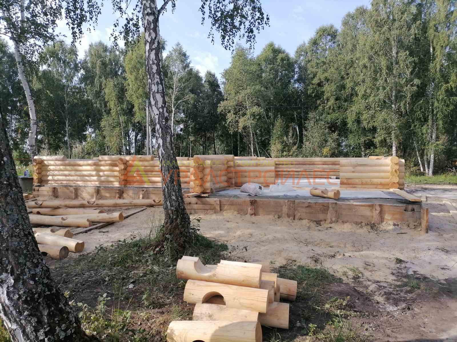 Проект дома № 1133 г. Курган. Д. Лукино