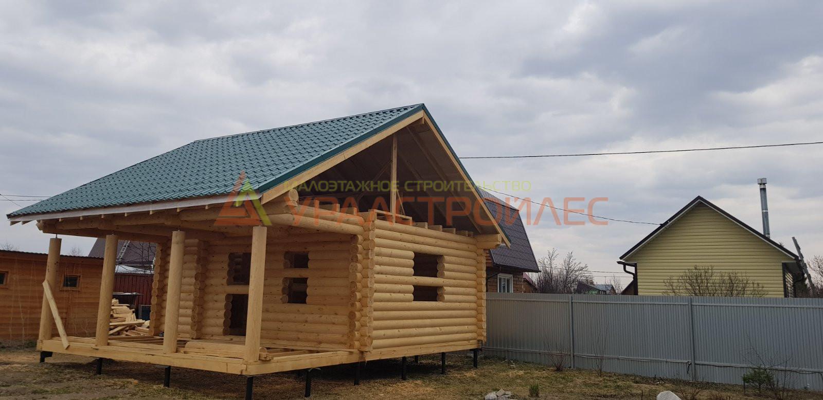 Проект дома № 1163 г. Тюмень СНТ Восход. Червишевский тракт.