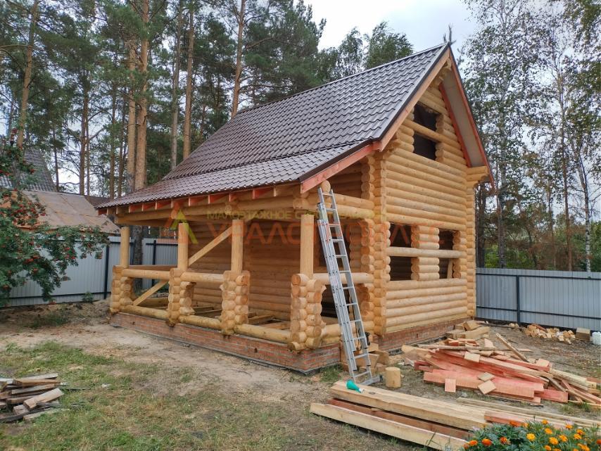 Проект бани № 1164 г Тюмень СН Рассвет . Район Боровский
