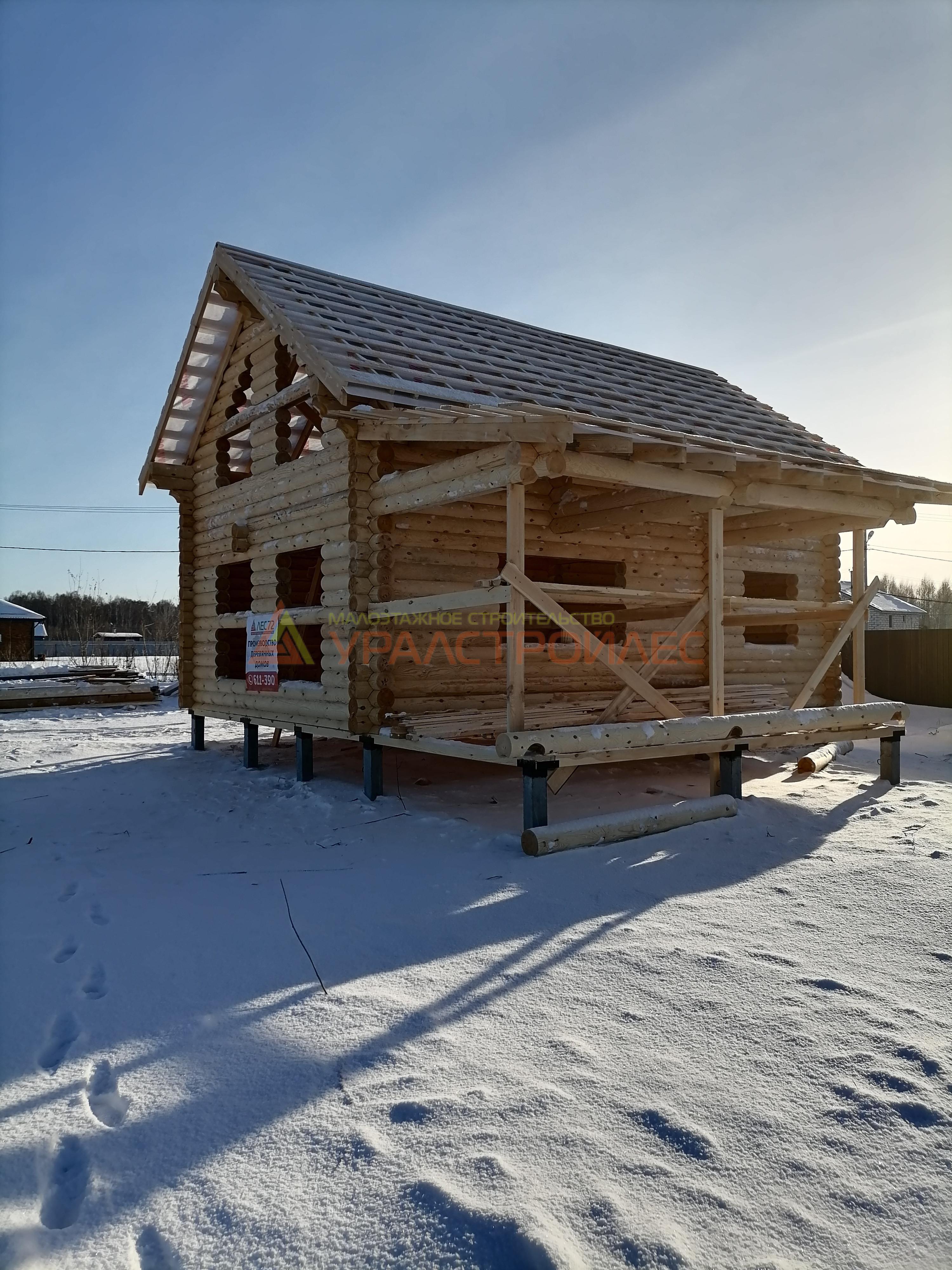 Проект дома № 1014 г. Тюмень д.Решетникова 2 .Салаирский тракт